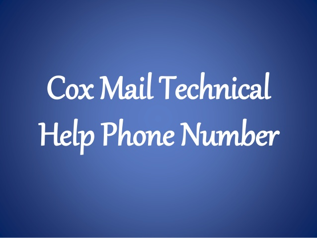 cox mail support