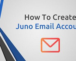 how to create juno email