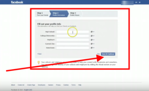 Facebook Profile Information