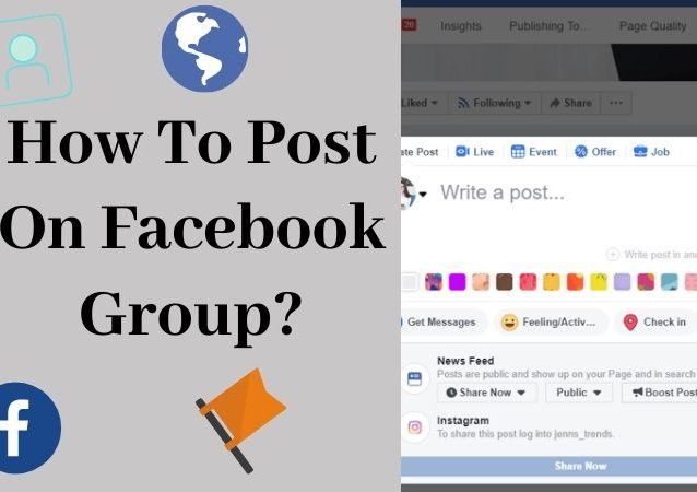 How To Post On Facebook Group_