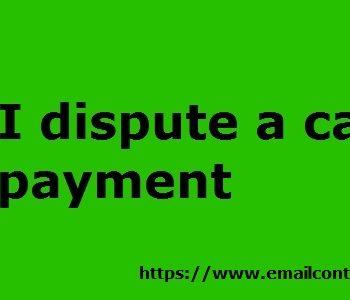 Cash App Dispute Payment