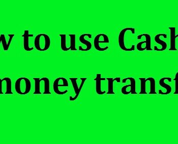How to use Cash app money transfer