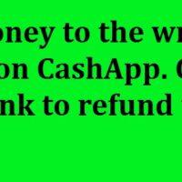 Cash App Refund