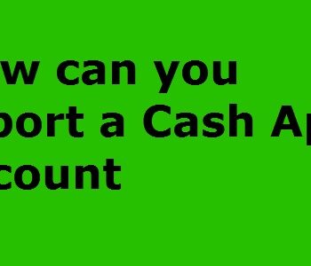 cash app account report