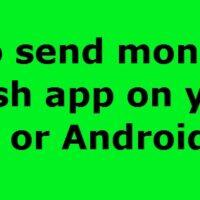 Send Money On Cash App