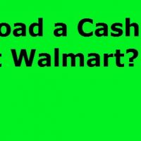 Can I Load Cash App At Walmart
