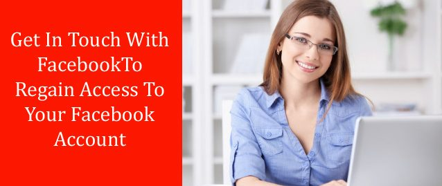 get in touch with facebook